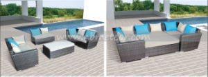 Mtc-039 Outdoor Rattan Sofa Set /Bed Patio Furniture pictures & photos