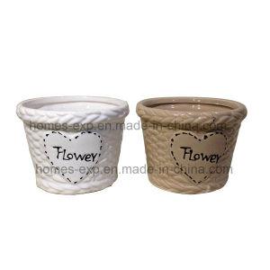 Fashion Home Decor Mini Ceramic Graden Flower Pots