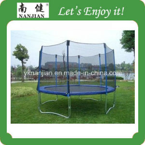 10ft Trampoline Bed with Net and Rain Cover and Ladder pictures & photos