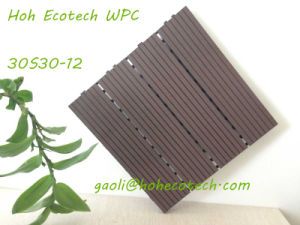 Ecotech WPC Plank Tiles 300mm Compound Plastic Decking MDF Sauna Board pictures & photos