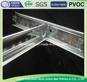 Metal Ceiling Tee Bar/Grid for Gypsum Ceiling Board (38H /32H) pictures & photos