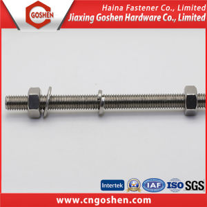 Stainless Steel Thread Rod, Stud Bolt, Duplex Stainless Steel Bolt pictures & photos