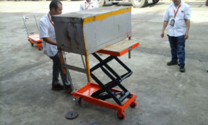 Hydraulic Scissor Lift Table Approved CE Certification pictures & photos