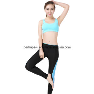 Fashion Spliced Women Fitness Wear Sports Bra Yoga Wear pictures & photos