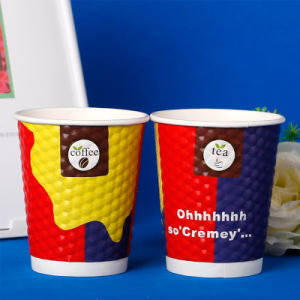 Disposable Coffee Paper Cup with Logo Printed