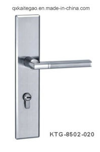 High Quality Stainless Steel Door Handle on Plate (KTG-8502-020) pictures & photos