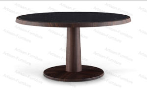 Modern Wooden Round Dining Table and Chairs for Dining Room Furniture (JP-T-002)