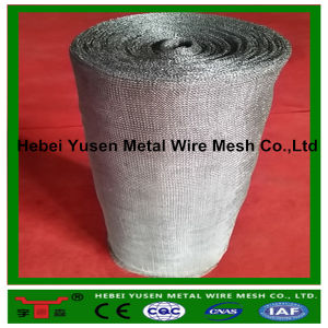 321, 304 Stainless Liquid Gas Filter Knitted Wire Mesh pictures & photos