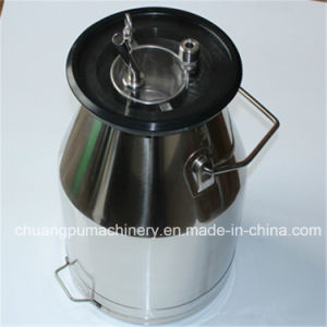 Milking Machine Pail, Milk Pail with Milk Filter pictures & photos