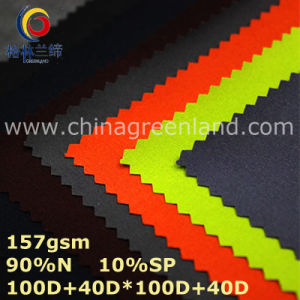 Two-Ways Spandex Nylon Taffeta Fabric for Textile Clothes (GLLML339) pictures & photos
