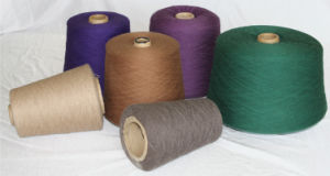 Worsted/Spinning Yak Wool /Cashmere Knitted Yarn/Fancy pictures & photos