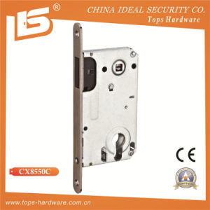 High Quality Magnetic Mortise Lock Body (CX8550C) pictures & photos