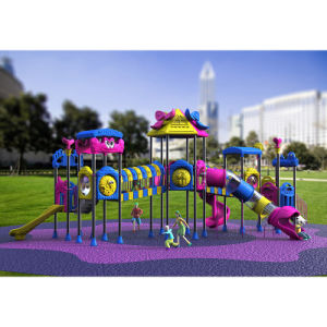 Outdoor Playground--Small Earth Guard Series, Children Outdoor Slide (XYH-MH022) pictures & photos