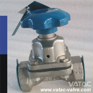 Wcb Body FEP Lining Weir Type Diaphragm Valve pictures & photos