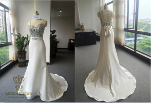 2016 Ladies Evening Dress Cocktail, Custom Made Wedding Dress pictures & photos