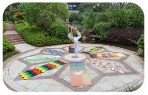 Wet Absorbent Yoga Mat Anti-Slip pictures & photos
