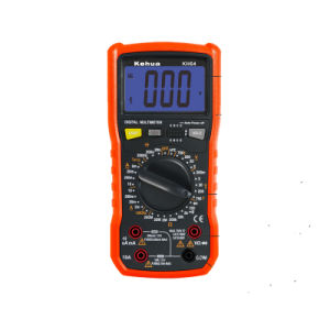 High Quality Electrial Digital Multimeter (KH64) with ISO Certified pictures & photos