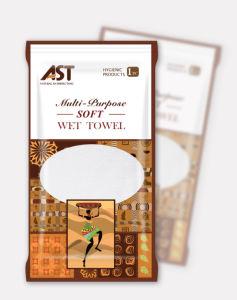 The Newest 25cm*25cm 30g Economic High Quality Disposable Wet Towel pictures & photos
