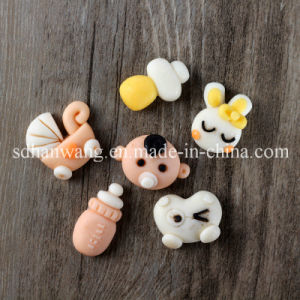 F0687 Multi Cartoon DIY Fondant Candy Chocolate Silicone Mold for Baby