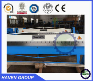 WH06-2.5X2040 Manual Steel Plate Bending and Folding Machine pictures & photos