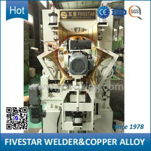 Frequency Control Automatic Steel Fuel Tank Seam Welding Machine pictures & photos