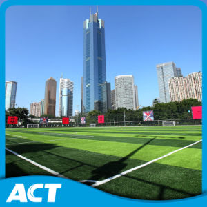 Recyclable Football Artificial Grass in Guangzhou Artificial Grass Mini Soccer pictures & photos