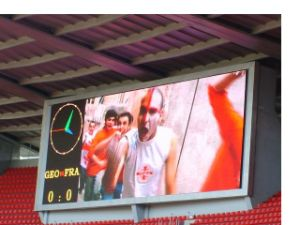 P10mm Outdoor Full Color Sports LED Display for Stadium (football, basketball, volleyball, ice hockey) pictures & photos
