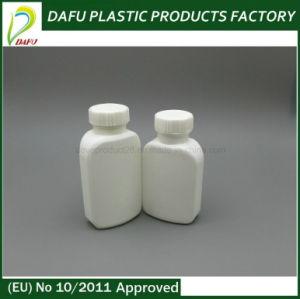 50ml-60ml HDPE White Platode Shape Plastic PE Bottle pictures & photos