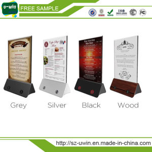 Bar/Restaurant/ Coffee Shop Menu Stand Power Bank 10000mAh with Lock pictures & photos