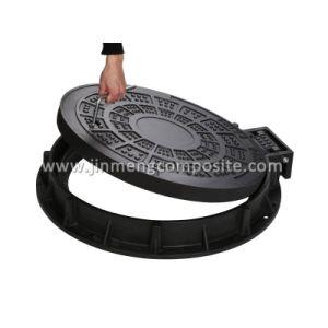 D400 Reinforced Fiberglass Manhole Cover Polymer Concret pictures & photos