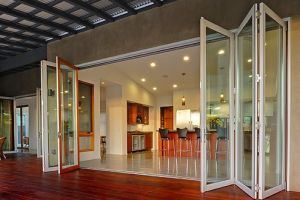 2015 Popular Thermal Break Aluminum Folding Door