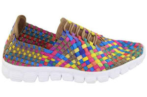 New Women Woven Sports Shoe Handmade Shoe