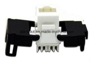 CAT6A 10 Gigabit UTP Tooless Keystone Jack 180 Degree pictures & photos