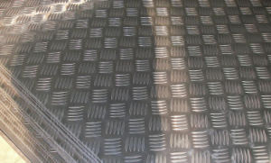 checkered aluminium sheet for trailers pictures & photos