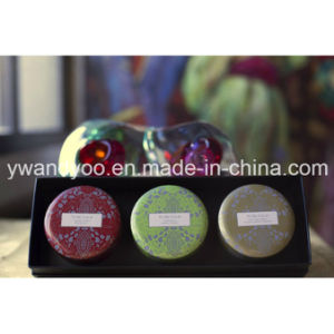 @Christmas Seriess Lemongrass Soy Wax Natural Scented Tin Candle