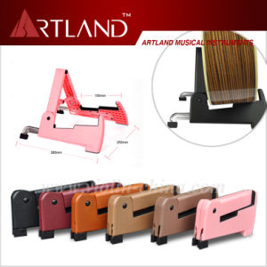 Foldable Guitar Stand (AGS002) pictures & photos