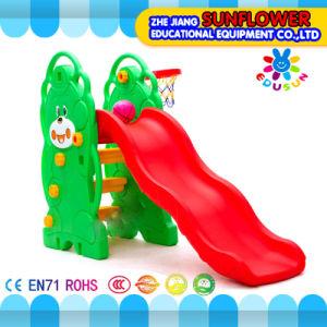 Indoor Playground Bear Shape Children Toys Kindergarten Soft Plastic Slide Playground (XYH12065-3)