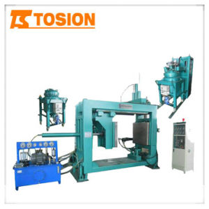 Ahg10108-V Epoxy Resin Automatic Pressure Gel Hydraulic Molding Machine pictures & photos
