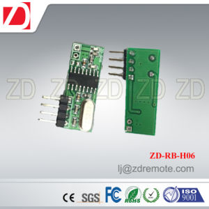 Best Price Superheterodyne 433MHz RF Receiver Module for Motorcar Alarm System Zd-Rb-H03 pictures & photos