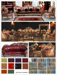 Wood Sofa with Sofa Chair for Home Furniture (D962B) pictures & photos