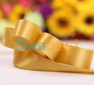 10mm100% Nylon Single Face Satin Ribbon for Gift pictures & photos