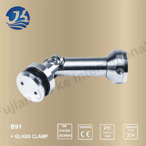 Shower Room Accessory Stainless Steel Glass Clamp (B91) pictures & photos