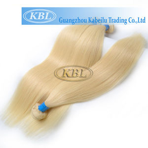 Natural Blond Color European Human Hair pictures & photos