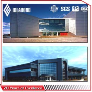 Ideabond Polyester Aluminium Composite Panel/ACP (AE-36A Light Blue) pictures & photos