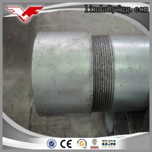 Hot DIP Galvanized Steel Pipe Bsp Threaded with Coupling as Per BS1387 pictures & photos