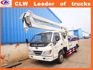 Foton 4*2 High Lifting Platform Truck pictures & photos