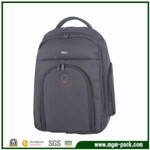 Fashion Nylon Black Shoulders Computer Backpack pictures & photos