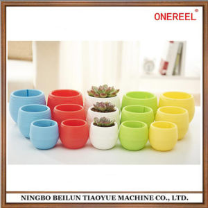 Colorful High Quality Plastic Flowerpot for Succulent Plant pictures & photos