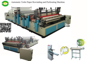 Economical Automatic High Speed Toilet Paper Production Line Price pictures & photos