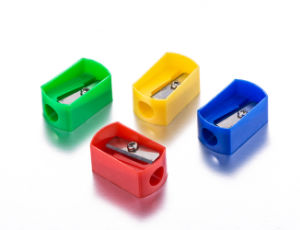 Cheap Plastic Pencil Sharpener with Good Quality pictures & photos